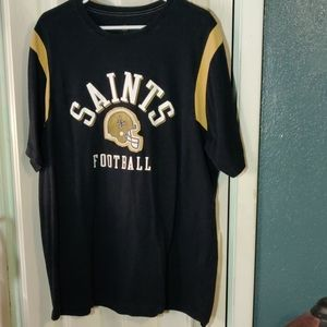 New Orleans Saints Jersey Like Tee. Size XL